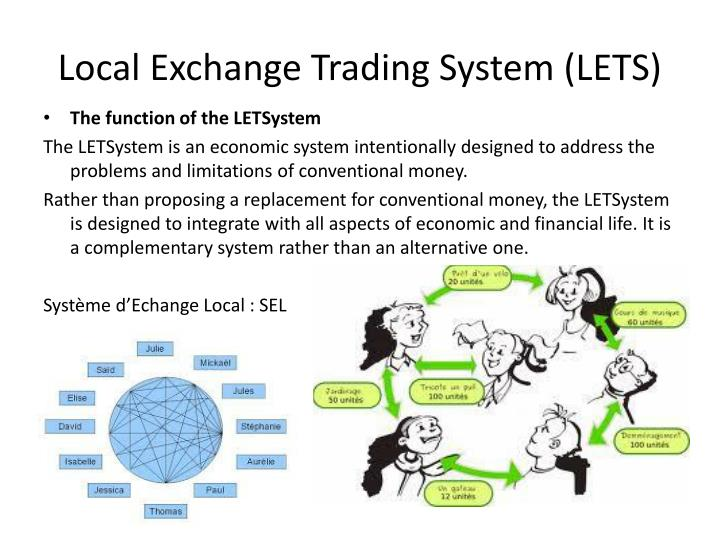 Lets local trading system