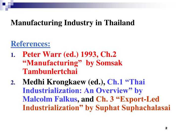 Manufacturing industry in thailand1