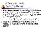 a beautiful mind nash equilibrium
