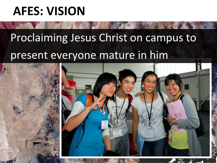 Proclaiming Jesus Christ on campus to