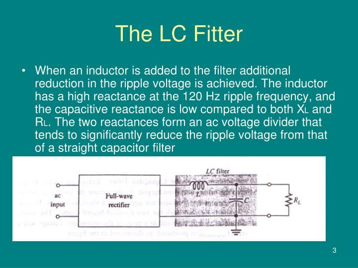 PPT - Surge Current in the Capacitor filter PowerPoint