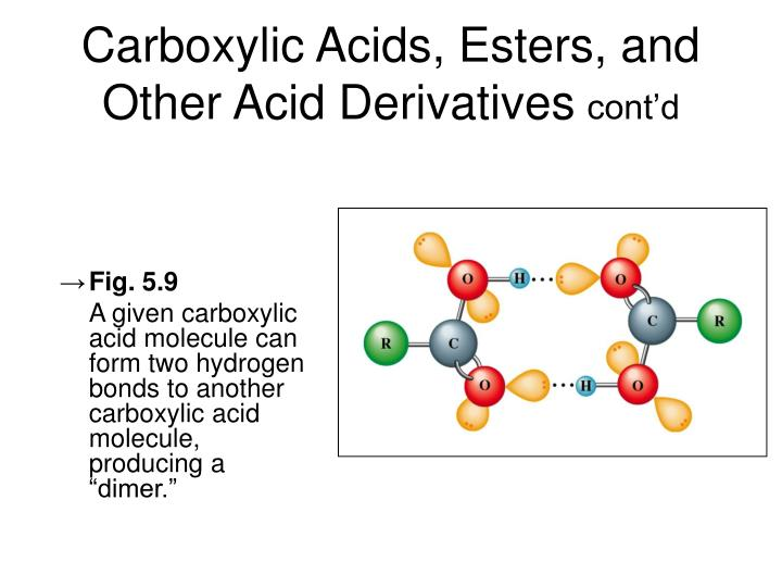 Carboxylic Acids, Esters, and