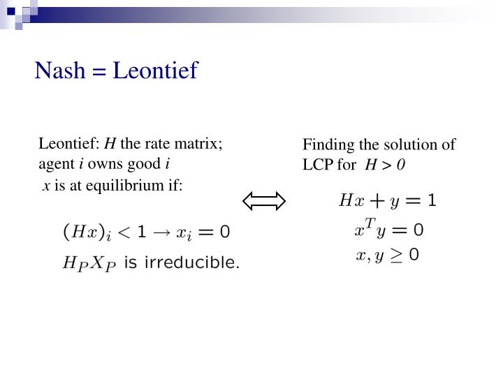 Finding the solution of LCP for