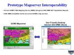 prototype mapserver interoperability