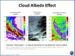 cloud albedo effect