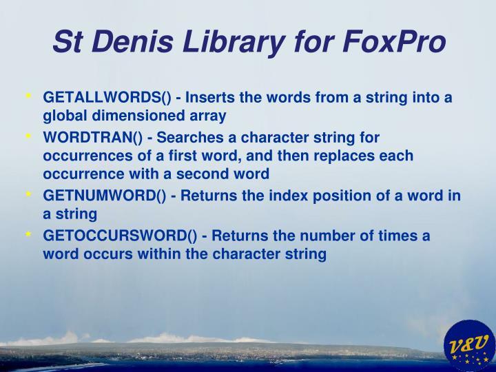 St Denis Library