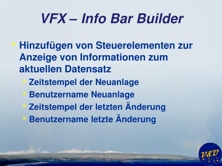 VFX – Info Bar