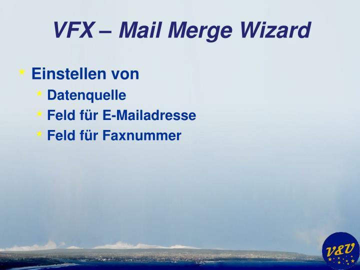 VFX – Mail