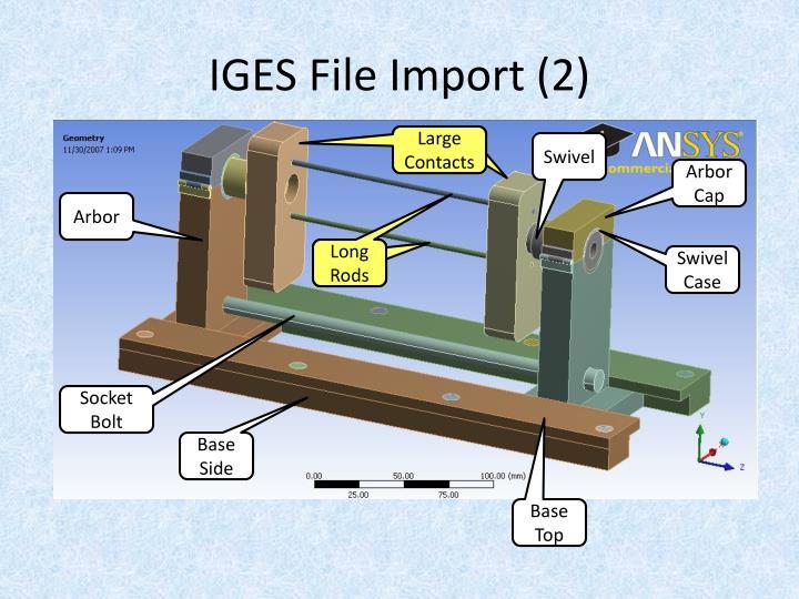 IGES File Import (2)