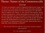 theme nature of the commonwealth2
