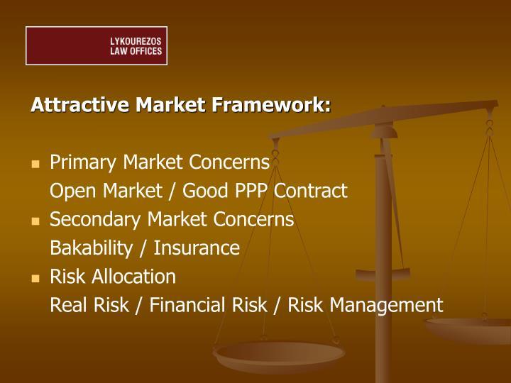 Attractive Market Framework: