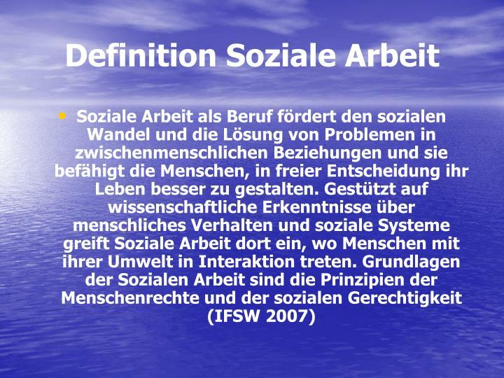 Definition Arbeit