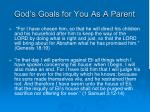 god s goals for you as a parent3