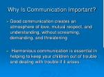 why is communication important1