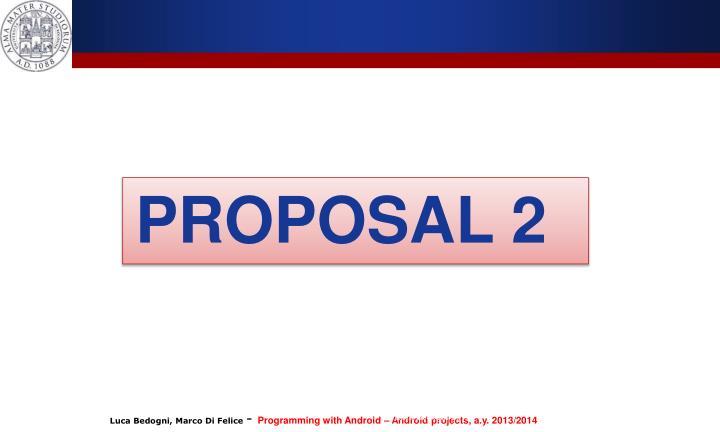 PROPOSAL 2