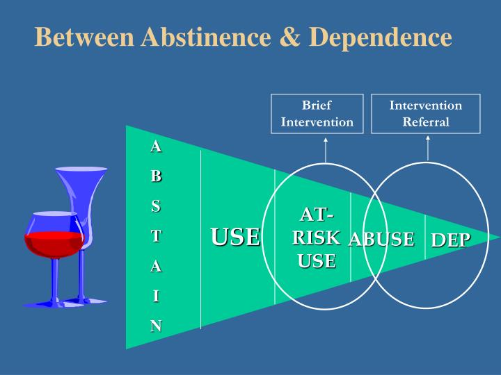 Between Abstinence & Dependence