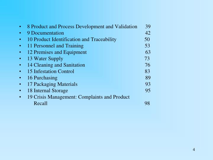 8 Product and Process Development and Validation      39