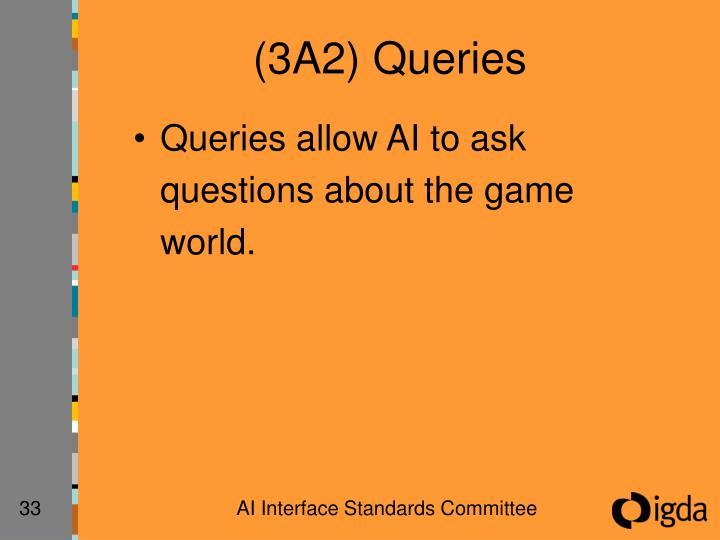 (3A2) Queries
