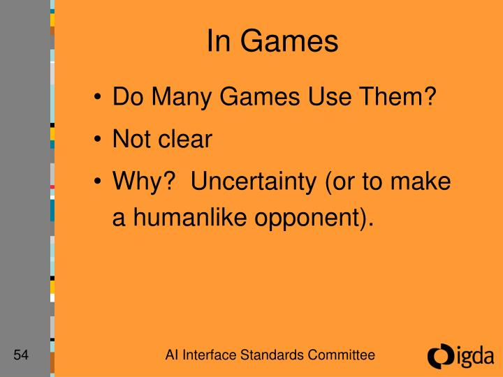 In Games
