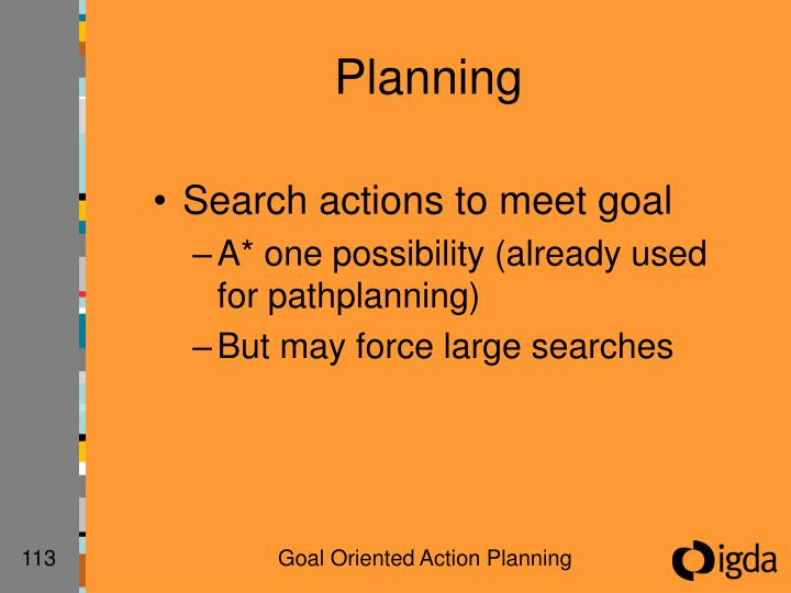 Planning