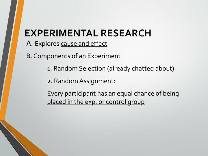 Experimental research1
