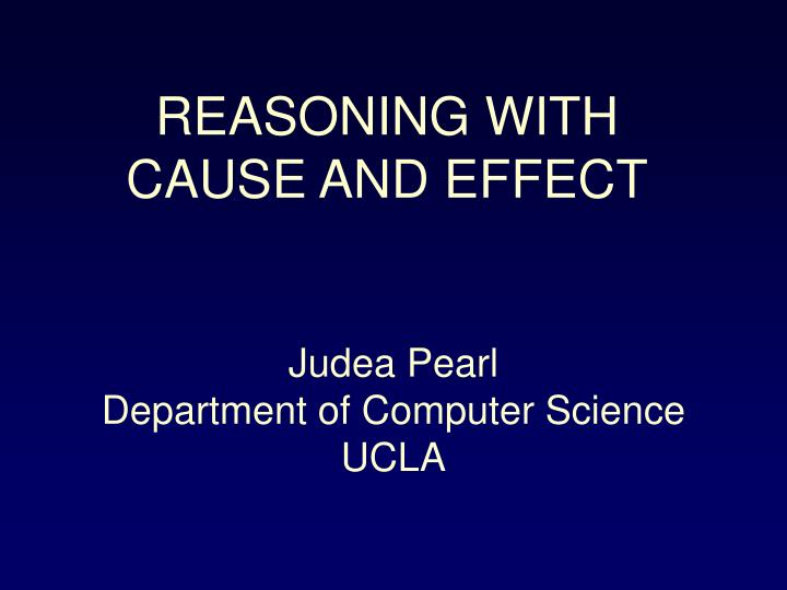 reasons vs causes Reason is the capacity for consciously making sense of things  reason compared to cause-and-effect thinking, and symbolic thinking as pointed out.