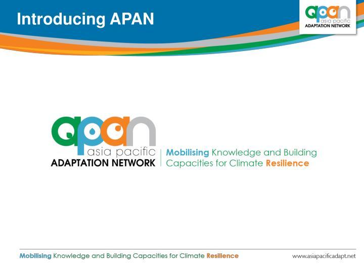 Introducing APAN
