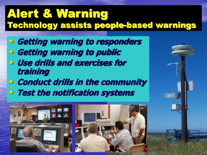 Alert & Warning