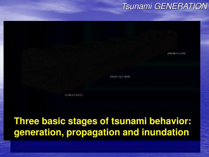 Tsunami GENERATION