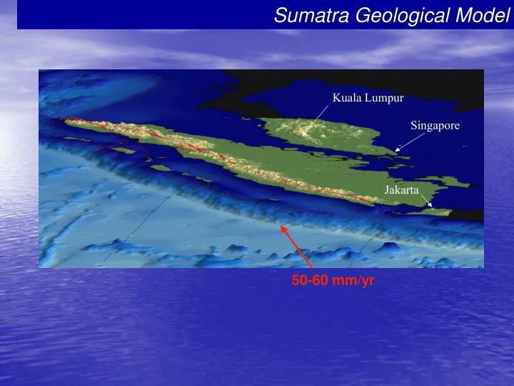 Sumatra Geological Model