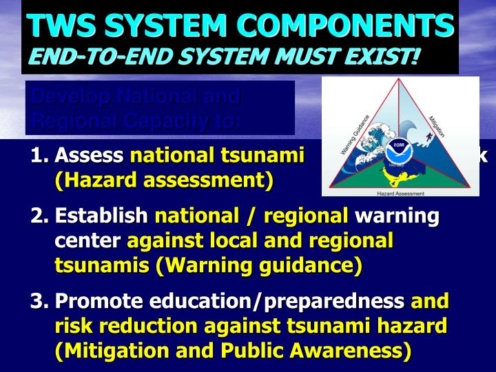TWS SYSTEM COMPONENTS