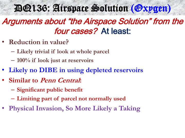 DQ136: Airspace Solution