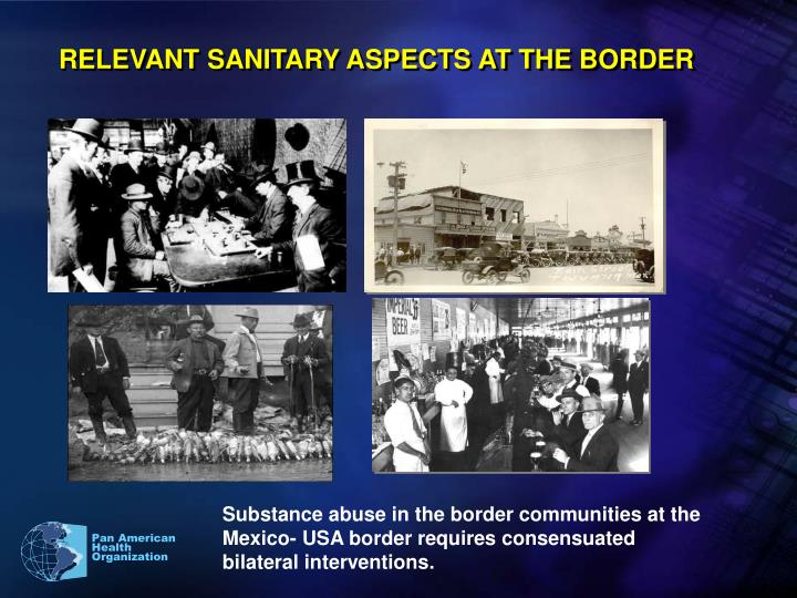 RELEVANT SANITARY ASPECTS AT THE BORDER