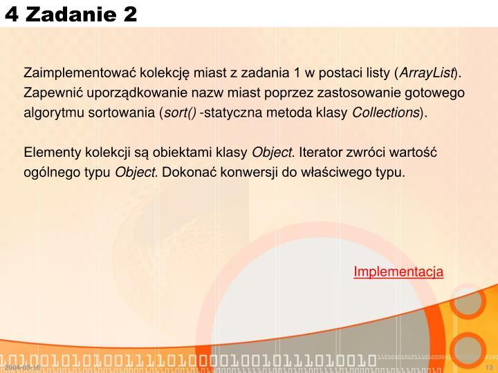 4 Zadanie 2