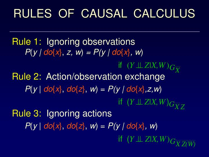 RULES  OF  CAUSAL  CALCULUS