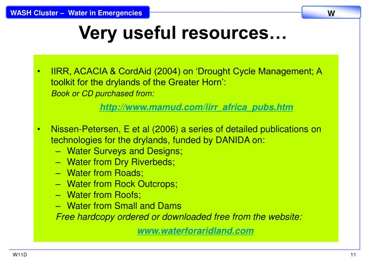 Very useful resources…