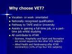 why choose vet