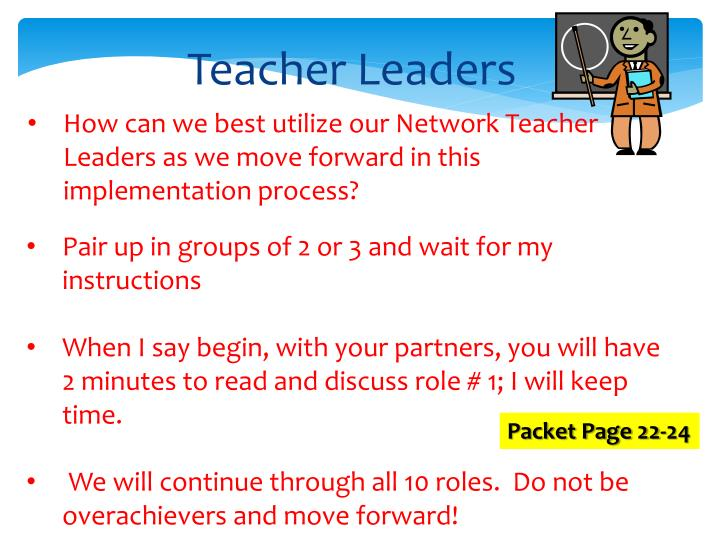 Teacher Leaders