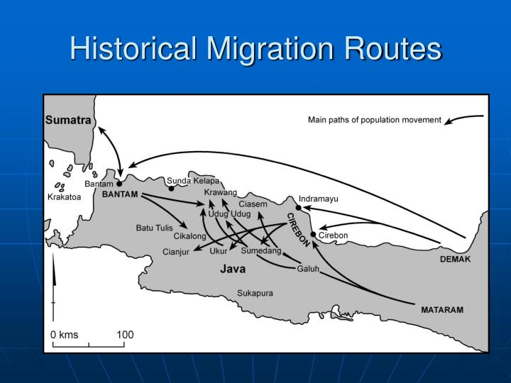 Historical Migration Routes
