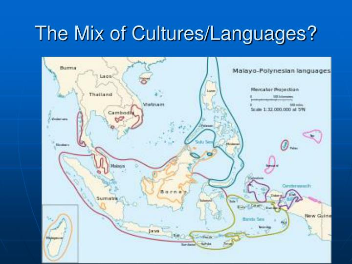 The Mix of Cultures/Languages?