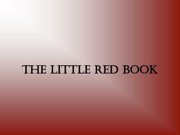 the little red book n.