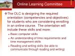 online learning committee1