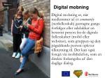 digital mobning