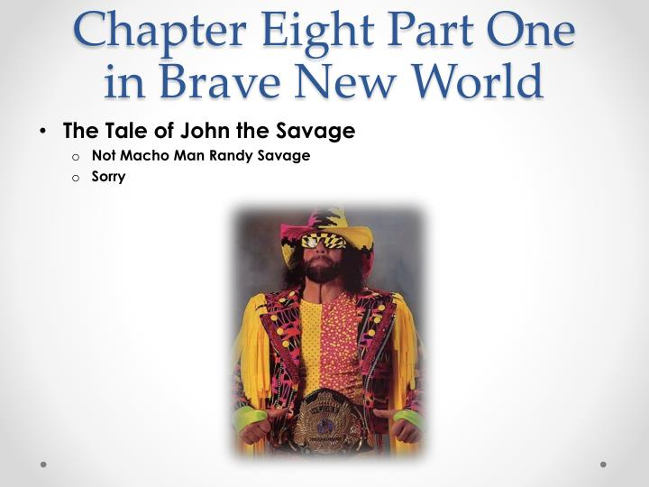 chapter eight part one in brave new world n.