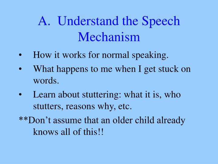 speech mechanism Chapter-2: mechanism of speech production and literature  review 21 anatomy of speech production speech is the vocal aspect of.