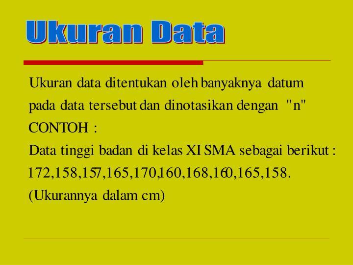 Ukuran Data