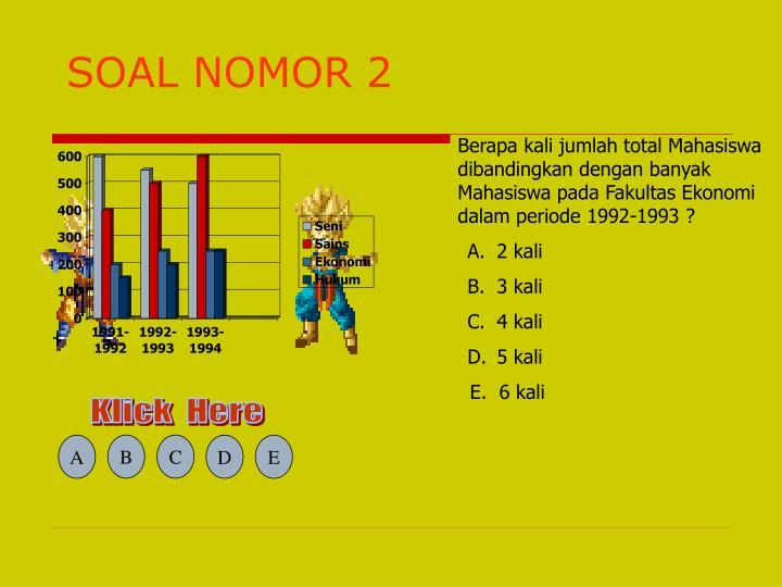 SOAL NOMOR 2