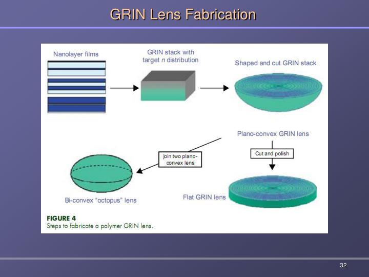 GRIN Lens Fabrication