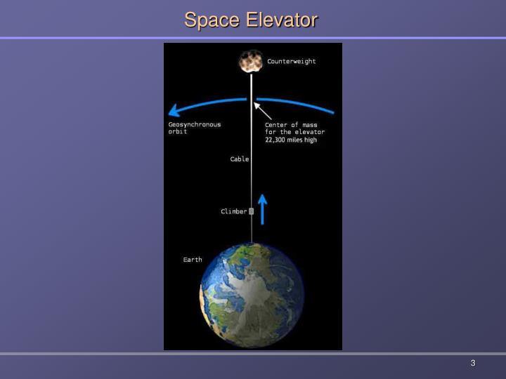 Space elevator