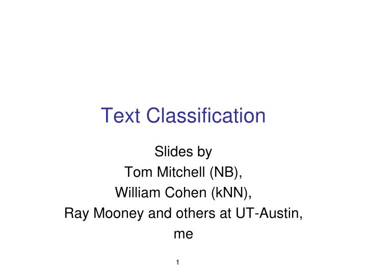 text classification n.